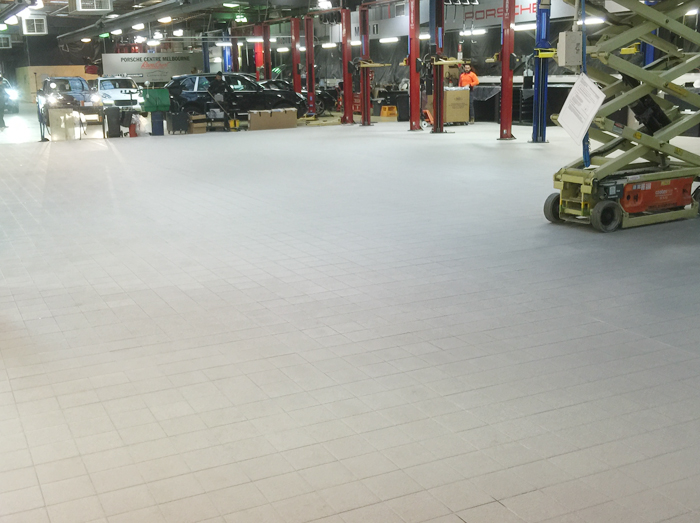 tiling a commercial factory melbourne