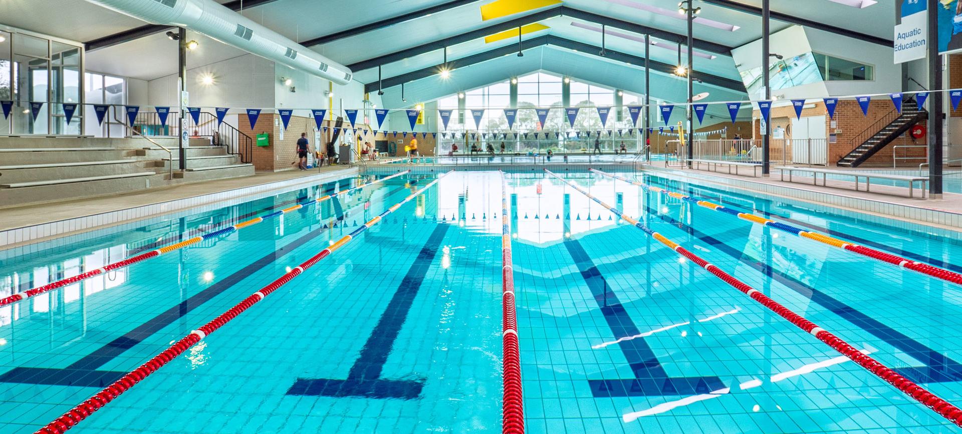 monash university pool refurbishment